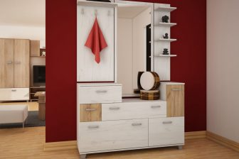 GRANDE - garderoba z lustrem 17