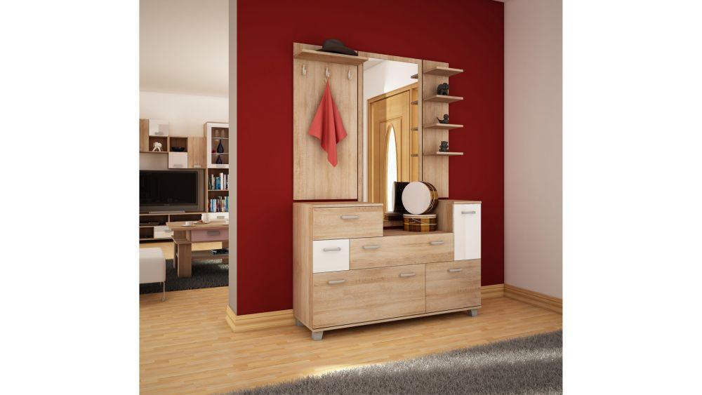 GRANDE - garderoba z lustrem 2
