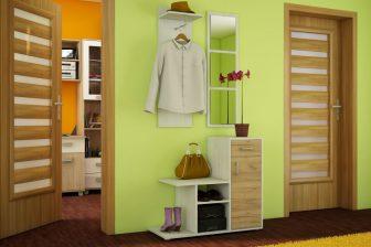 MALMO - garderoba z lustrem różne kolory 25