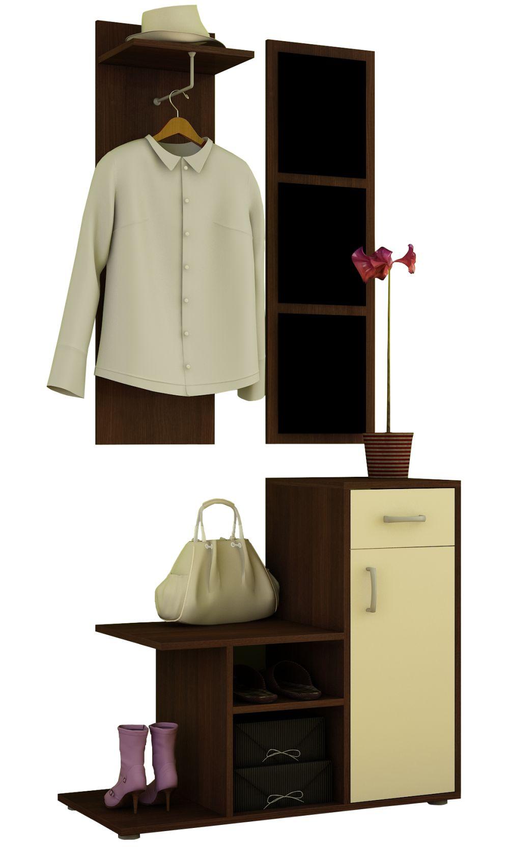 MALMO - garderoba z lustrem różne kolory 3