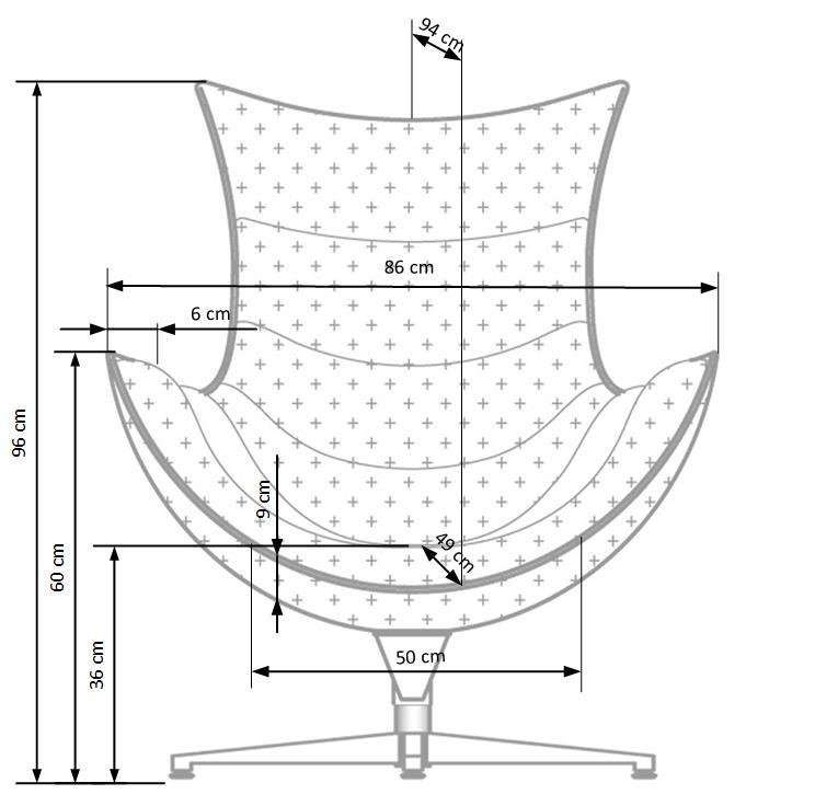 LUXOR - fotel nowoczesny 13