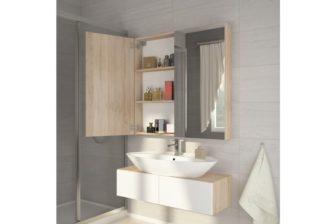 DELL 80 - szafka łazienkowa z lustrem 9