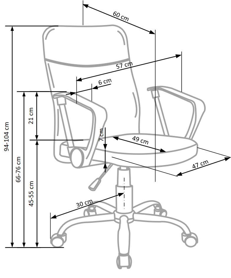 TOPIC - fotel obrotowy 9