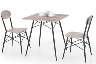 KABIR 1 - ZESTAW stół z krzesłami 9