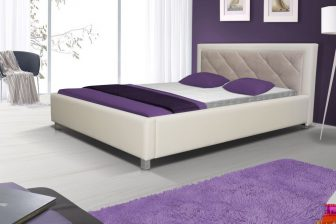 FELICJA 160 - łóżko tapicerowane różne kolory 74