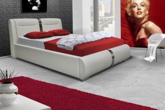 GABRIELA 160 - łóżko tapicerowane różne kolory 75
