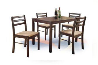 NEW STARTER - ZESTAW stół z krzesłami 16