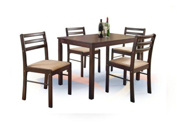 NEW STARTER - ZESTAW stół z krzesłami 1