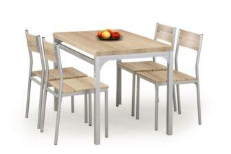 MALCOLM - ZESTAW stół z krzesłami różne kolory 24