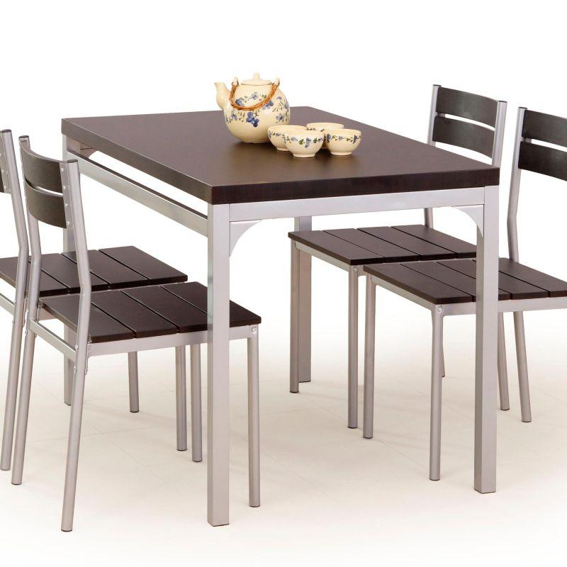MALCOLM - ZESTAW stół z krzesłami różne kolory 2