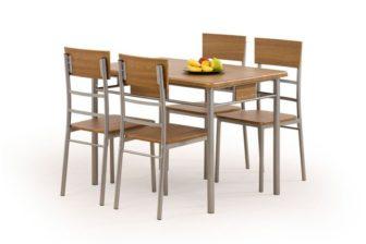 NATAN - ZESTAW stół z krzesłami 15