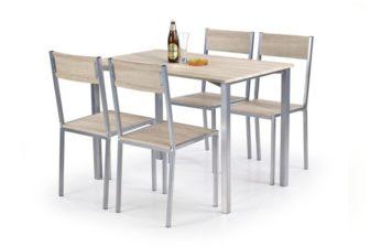 RALPH - ZESTAW stół z krzesłami 19