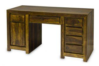 Biurko gabinetowe DELI z drewna akacjowego 13