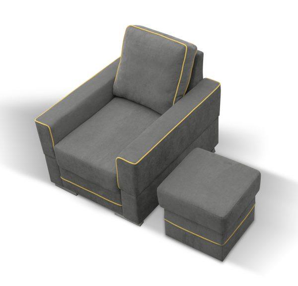 SIMONA B - fotel nowoczesny 1