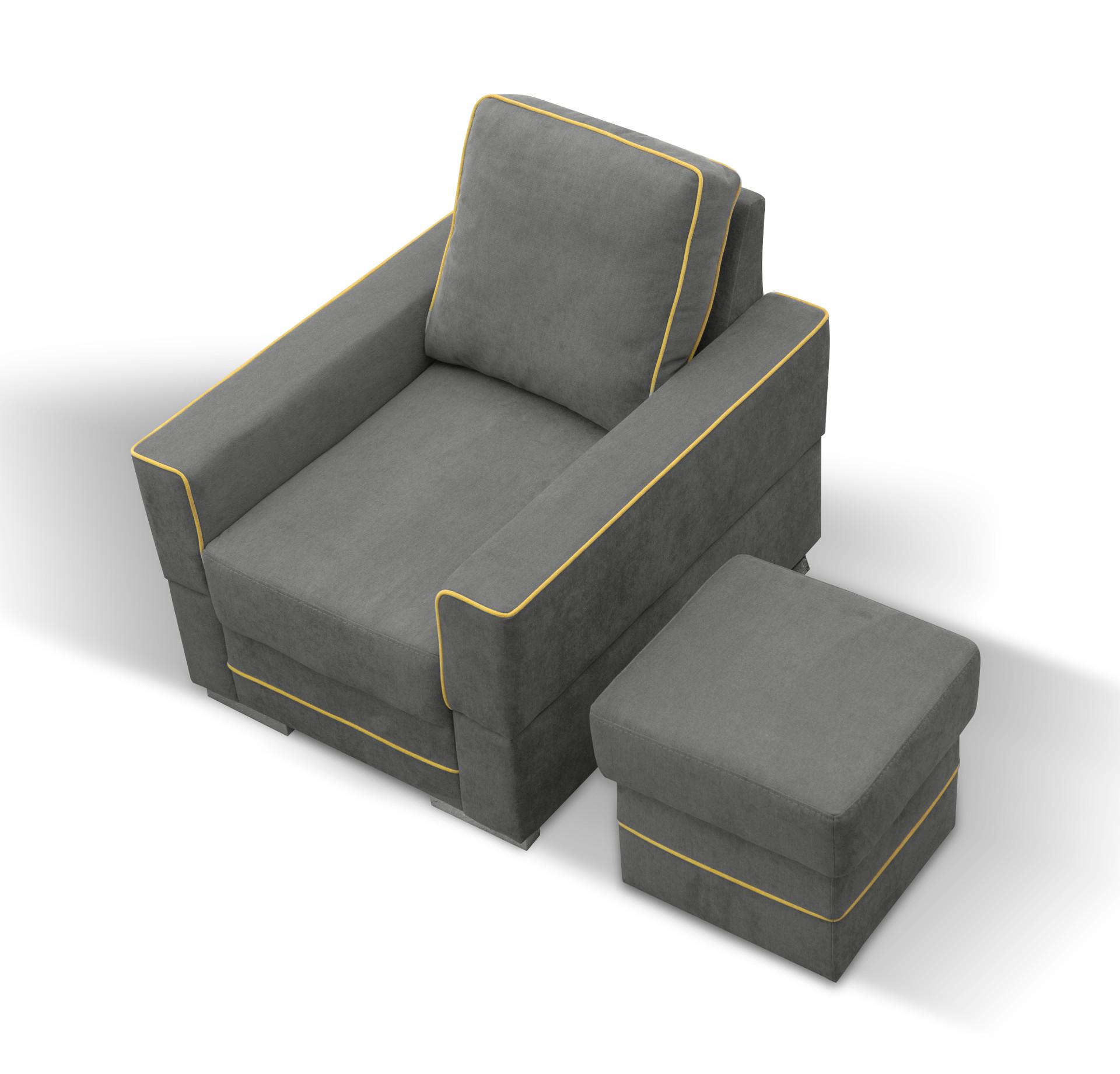 SIMONA B - fotel nowoczesny 2