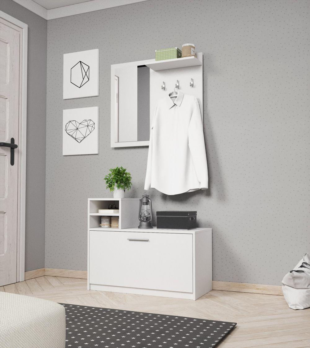 LONA - garderoba z siedziskiem różne kolory 2