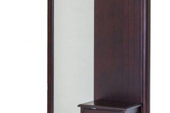 Klasyczna rzeźbiona garderoba do przedpokoju ALTER PLUS kolor mahoń 8