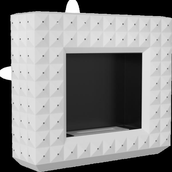 Biokominek EGZUL biały mat 1