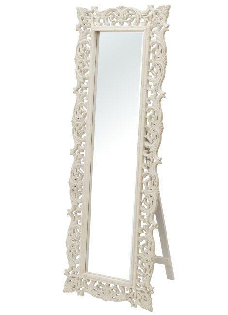 Lustro stojące w stylu prowansalskim ROMINA 10 1
