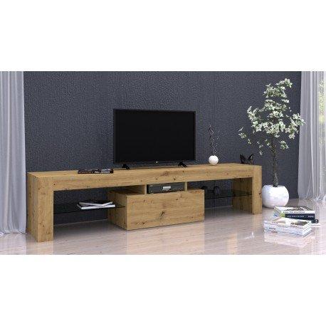 ARTDEKO 160 - szafka RTV stolik RTV dąb artisan 1