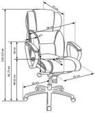 FOSTER - fotel gabinetowy różne kolory 12