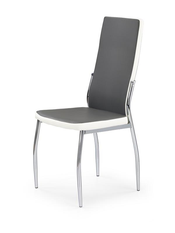 K210 krzesło popiel/biały 1