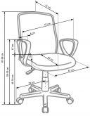 ALEX - fotel obrotowy 8