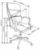 AURELIUS - fotel gabinetowy 8