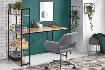 NARVIK B-1 - biurko industrialne z regałem - konsola 6