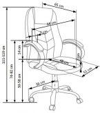 CODY - fotel gabinetowy 8