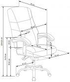 ALVIN - fotel gabinetowy 7