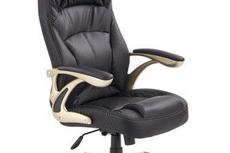 CARLOS - fotel gabinetowy czarny 9
