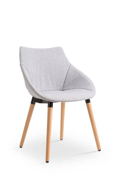 Krzesło K226 jasny popiel 41