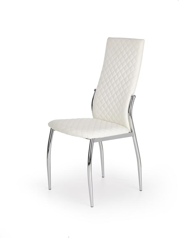 K238 krzesło szare/białe 1