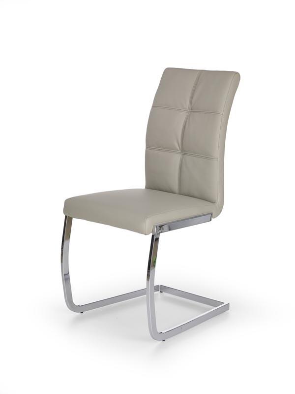 Krzesło K228 jasny popiel 42