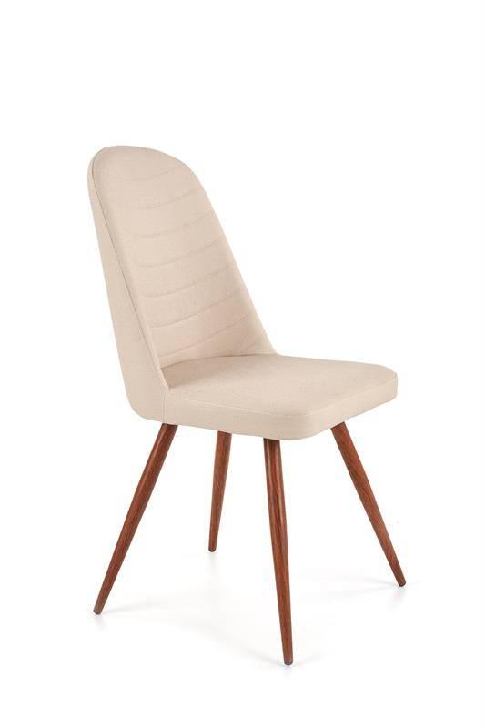 Krzesło K214 szare/kremowe 38