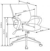 LUCAS - fotel obrotowy 8