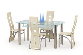 CRISTAL - stół szklany 11