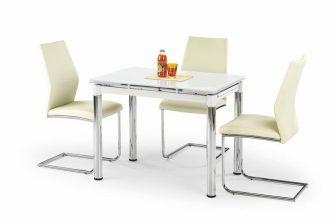 LOGAN - stół rozkładany biały 17