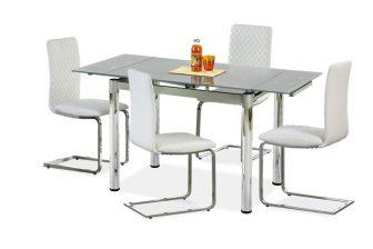 LOGAN - stół rozkładany popielaty 18