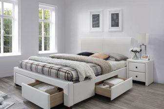 MODENA 2 160 - łóżko tapicerowane z szufladami 45