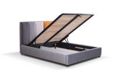 AREZO 160 - łóżko tapicerowane z pojemnikiem 4