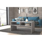 APRIL - ława stolik kawowy z półkami - kolory 5