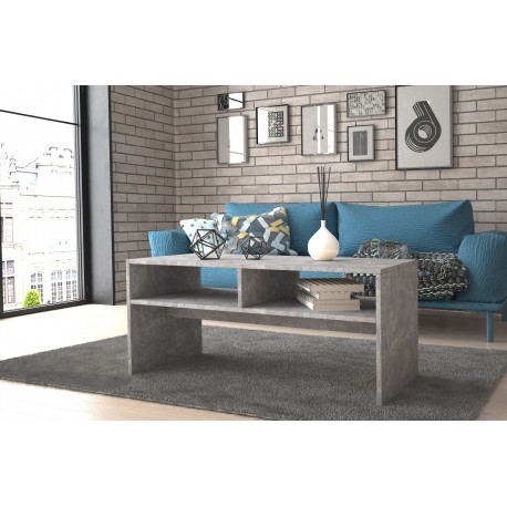 APRIL - ława stolik kawowy z półkami - kolory 1