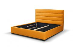 VESTA 140 - łóżko tapicerowane z zagłówkiem różne kolory 4