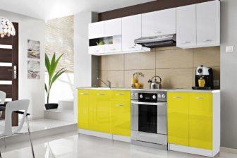 ECONO P - tanie meble kuchenne różne kolory połysk 2,4m 19