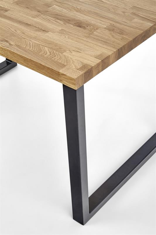 RDS- stół industrialny rozkładany 160 lite drewno 2