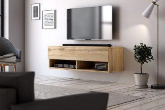 BASIC 100 - szafka RTV wisząca stolik RTV - różne kolory 1