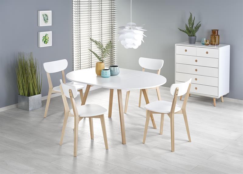 RONALDO - stół rozkładany BIAŁY 2
