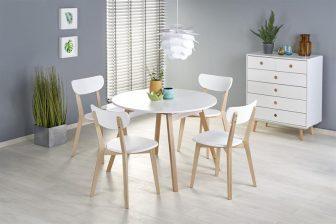 RONALDO - stół rozkładany BIAŁY 9
